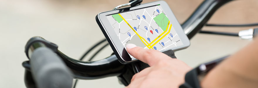 vélo GPS